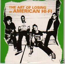 (L190) American Hi-Fi, The Art of Losing - DJ CD