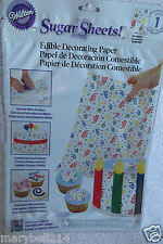Wilton Sugar Sheet Serpentin design For Cake & Cupcakes Decorating New
