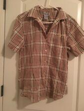 Charmant Cabin Creek Menu0027s Casual Dress Shirt Sz M Top MultiColor Clothes