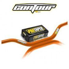 "Protaper Contour Handlebars Fat Handle Bars 1 1/8"" Pro Taper KTM Orange 02-7996"