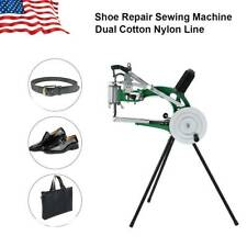 Shoe Repair Sewing Machine Thread Stitching Equip Cobbler Nylon/Rubber/Leather