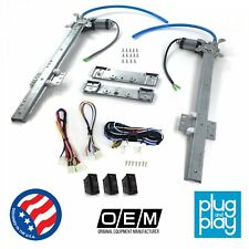 Chevy Corvair 1960 - 69 Power Window Regulator Kit w/ 3 LED Switches sbc muscle