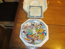 "Disney's Winnie The Pooh ""A Festive Day In Every Way"" # 5 Bradford Exchange"