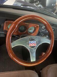 RAID R.D.I.Itay 70210 Holz Sportlenkrad MINI, BMW,FIAT, Mercedes.. E Prüfnummer