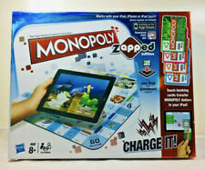 Monopoly Zapped Edition Board Game - Works With IPad/IPhone/IPod Touch Age 8+
