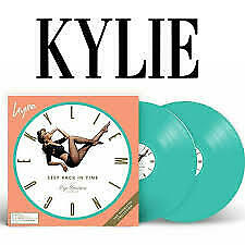 Kylie Minogue - Step Back in Time LP (brand new) Green Vinyl