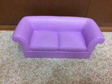 1997 Barbie Doll Folding Pretty House Couch Sofa Love Seat Living Room Furniture