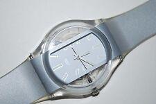 2001 Swatch Watch GK-335 MASKING Gents Lady Swiss Quartz Original Plastic Class