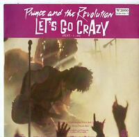 "Prince - Let's Go Crazy 7"" Single 1984"