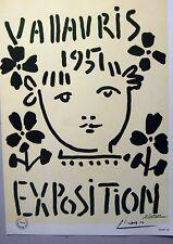 """Pablo Picasso """"Carteles"""" No. 16 - Firmado a mano. Sello galeria de arte"""
