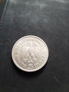 5 Reichsmark 1935, Paul von Hindenburg