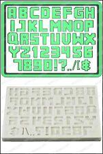 Stampo in Silicone Alfabeto (Pixel Sceneggiatura) Cibo Use FPC