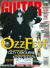 1998 Guitar World Magazine: Ozzy Osbourne Twisted Saga/Randy Rhoads Death