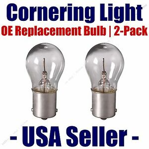 Cornering Light Bulb OE Replacement 2pk - Fits Listed Dodge Vehicles - 1141