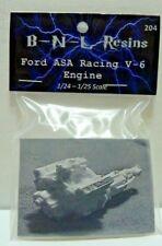 BNL Ford ASA Racing V-6 1/24- 1/25 scale Resin Engine Model kit