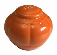 1 Vintage Homer Laughlin Riviera Tango Red Salt or Pepper Shaker 1930's HLC USA