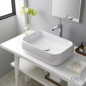 Cielo Shui lavabo da appoggio rettangolare 60x40
