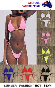 WOMEN BIKINI SET TOP BRA HOT SUMMER SEXY LINGERIE SWIMSUIT SWIMWEAR BEACH NO16