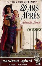 LIBRO Le trois mousquetaires 20 ans apres Dumas Alexandre Marabout-Geant