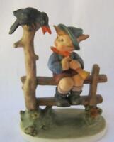 M I Hummel Goebel MISCHIEF MAKER Porcelain Figurine Germany Mold 342 TMK6