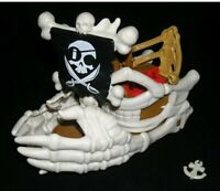 Fisher Price Imaginext Billy Bones PIRATE SHIP Skeleton Skull Hands 2015 Mattel
