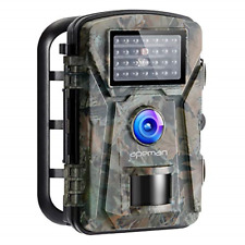 APEMAN Wildlife Camera 16MP 1080P FHD Trap with Infrared Motion Activated Game