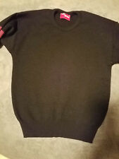 SKI SWEATER JUNIOR XL, BY SKI MODE, BLACK with accents. Like a WOMEN'S SMALL