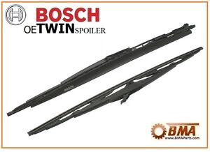 OEM BMW E46 323 325 328 330 M3 99-2006 Wiper Blade Set - Bosch 3397001394