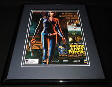 No One Lives Forever 2002 PS2 11x14 Framed ORIGINAL Vintage Advertisement