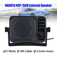 Nagoya NSP-150V External Speaker for Ham Radios ICOM Yaesu Motorola Kenwood