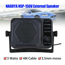 Nagoya NSP-150V External Speaker for Ham Radios ICOM Yaesu Motorola Kenwood