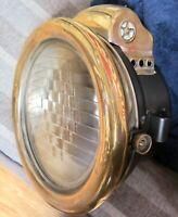 .Pair of Antique Carbide Headlights Saxon Manufacturing Co Toledo Ohio
