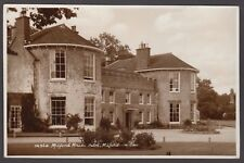 Postcard Milford on Sea near Lymington Hampshire early view of Milford House RP