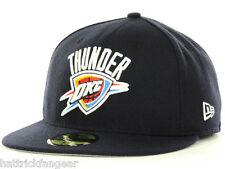 Oklahoma City Thunder OKC New Era 59FIFTY Cap Fitted NBA Basketball Hat  7 3/4