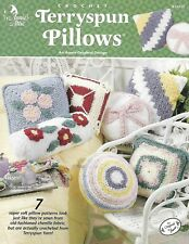 Annie's Attic Terryspun Pillows Crochet Pattern 7 Designs