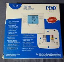 Pro1 IAQ T705 1H/1C Programmable Digital Thermostat