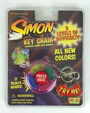 2000 Hasbro Simon Says Game Keychain Key Chain - Sealed - UNUSED