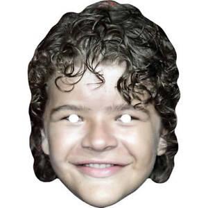 Gaten Matarazzo Stranger Things Celebrity Card Face Mask Masks Pre-Cut