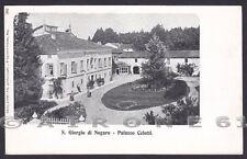 UDINE SAN GIORGIO DI NOGARO 05 PALAZZO CELOTTI  Cartolina 1906