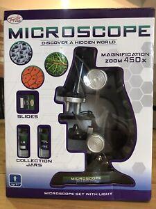 Toyrific Children's Microscope Set with Light