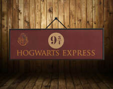 Harry Potter 3/4 Platform Vintage Paper Poster Decor Movie Collection Gift
