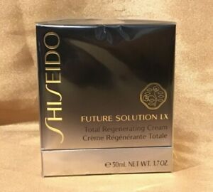 SHISEIDO FUTURE SOLUTION LX TOTAL REGENERATING CREAM 1.7 FL/OZ 50 ML NEW IN BOX
