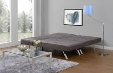 Convertible Sofa Futon Couch Bed Chaise Lounger Sleeper Furniture Living Room