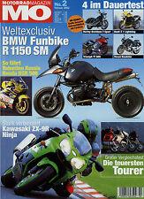 mo 2/02 2002 Buell X1 Lightning Fireblade ZX-9R Voxan Roadster K 1200 LT XVZ1300
