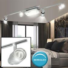 Deckenlampe Spotleuchte Strahler drehbar ALU Glas Beleuchtung Schlafzimmer Diele