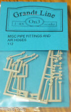 Grandt Line On3 #112 (On3 Scale) Pipe Fitting & Air Hoses Sets