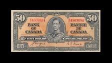 1937 BANK OF CANADA KGVI $50 **Coyne & Towers** (( EF ))