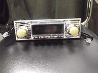 Wartburg 311 / 312 / 313 Trabant / Barkas Retro Radio Chrom NEU Oldtimer