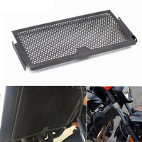 Motorcycle Radiator Grille Guard Cover Black For Yamaha FZ07 MT07 2014-2017