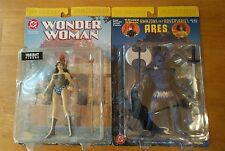 DC Direct Wonder Woman( Variant) and Ares 2 Figure Set RARE and HTF